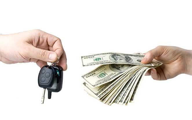 Продаем машину