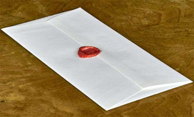 Завещание в конверте