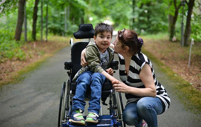 Ребенок с инвалидностью