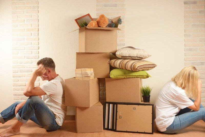 Как проходит раздел имущества, если супруги не состоят в браке