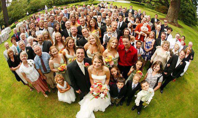 Родственные связи возникающие в браке