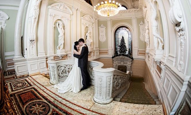 Свадьба во дворце бракосочетания