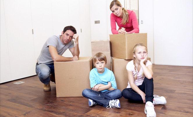 Деление имущества при разводе супругов с детьми