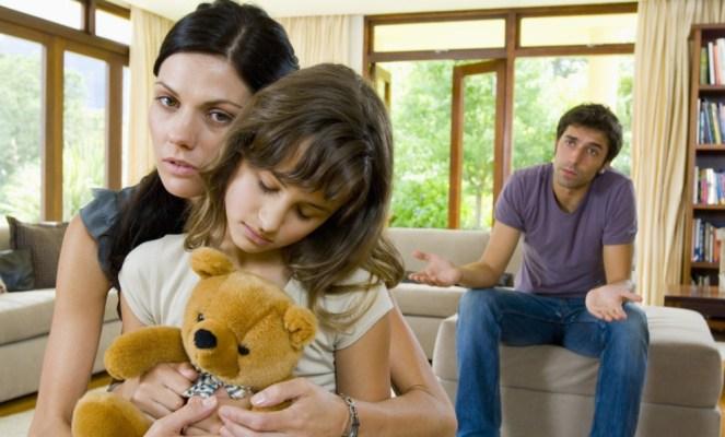 Развод супругов с детьми