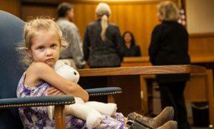 Отстаивание в суде своего права видеться с ребенком